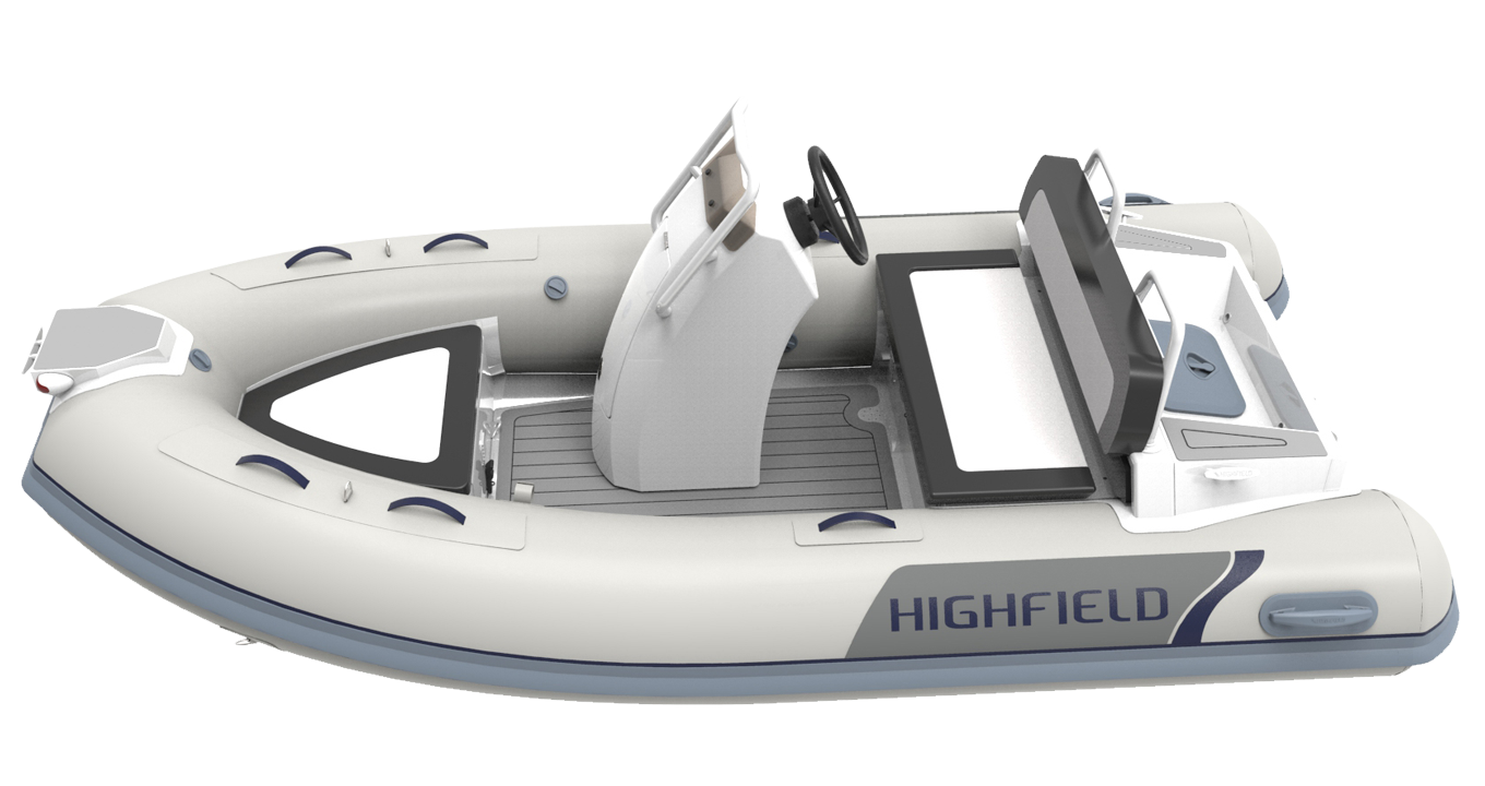 HIGHFIELD BOATS - Aluminium Rigid Inflatable Boats